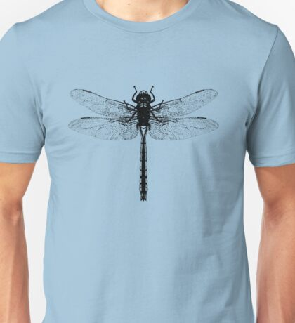 Black Dragonfly Unisex T-Shirt
