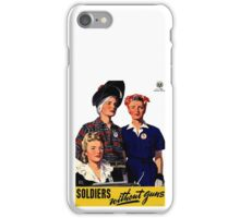Soldiers Without Guns iPhone Case/Skin