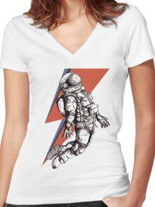 Flying Ziggy Women's Fitted V-Neck T-Shirt