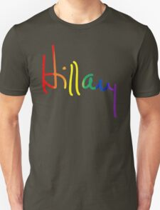 LGBT for Hillary Unisex T-Shirt
