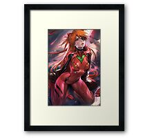 Evangelion Hot Painting Framed Print