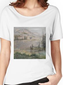 Mountains of the North Unveiling Women's Relaxed Fit T-Shirt