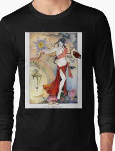 White Tara Tibetan Goddess Long Sleeve T-Shirt