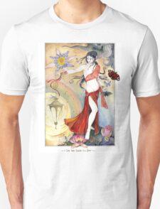 White Tara Tibetan Goddess Unisex T-Shirt