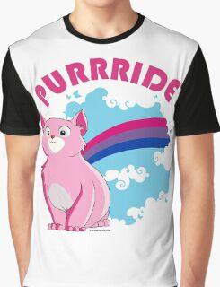 Bi Purrride Graphic T-Shirt