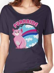 Bi Purrride Women's Relaxed Fit T-Shirt