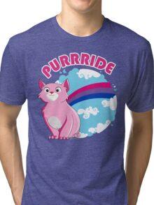 Bi Purrride Tri-blend T-Shirt