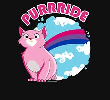 Bi Purrride Womens Fitted T-Shirt