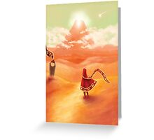 Journey - I Was Born For This Greeting Card