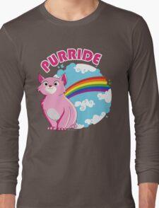 Gay Purrride Long Sleeve T-Shirt