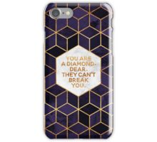 You are a diamond, dear. iPhone Case/Skin