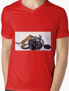 The Kodak Guy Mens V-Neck T-Shirt