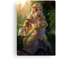 Princess Zelda Canvas Print