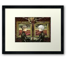 Evangelion Painting The Strong Fighters Framed Print