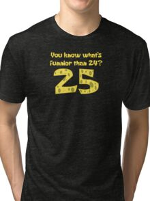 25 - Spongebob Tri-blend T-Shirt
