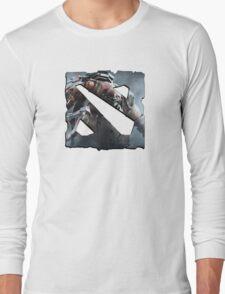 Dota 2 Logo With Pudge Long Sleeve T-Shirt