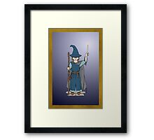 Cute Wizard Framed Print