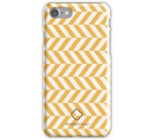 Yellow spike pattern iPhone Case/Skin