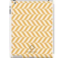 Yellow spike pattern iPad Case/Skin