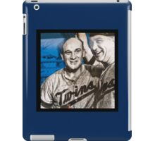 Twins Champs iPad Case/Skin