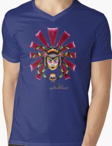 Spider Lady Mens V-Neck T-Shirt