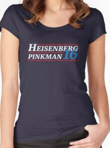Election 2016 - Heisenberg & Pinkman Women's Fitted Scoop T-Shirt