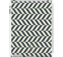 Navy spike pattern iPad Case/Skin