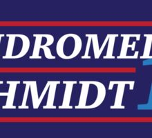 Election 2016 - Andromedon & Schmidt Sticker