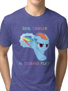 Rainbow Dash 20% Cooler Tri-blend T-Shirt