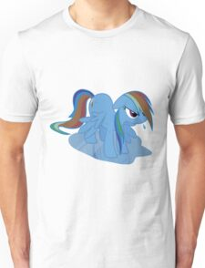 Wet Rainbow Dash Unisex T-Shirt
