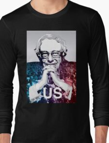 US - Bernie Sanders Art Long Sleeve T-Shirt