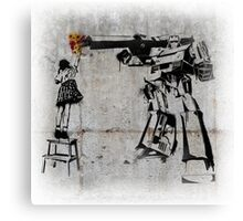 Megatron - Peace Through Botany (Wall) Canvas Print
