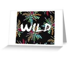 Wild nature Greeting Card