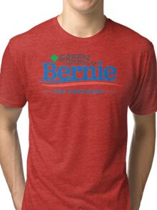 Green Party Voters for Bernie for President Tri-blend T-Shirt