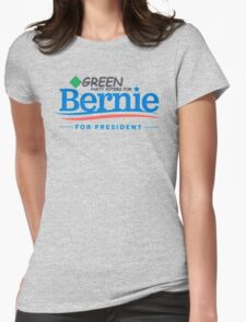 Green Party Voters for Bernie for President Womens Fitted T-Shirt