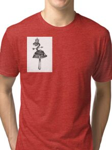 King of the shrooms Tri-blend T-Shirt