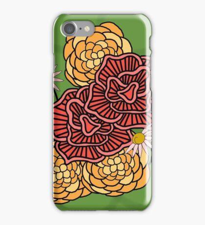 Fun Floral Pattern iPhone Case/Skin