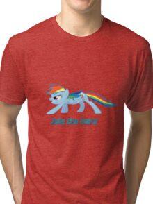 Rainbow Dash Join the Herd Tri-blend T-Shirt