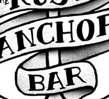 The Rusty Anchor Bar Sticker