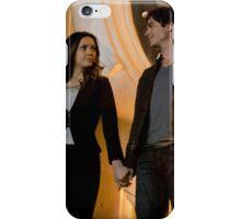 Elena and Damon - Delena iPhone Case/Skin