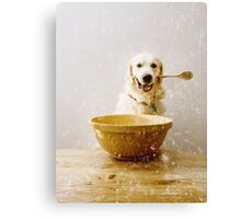 Cooking with Chester Canvas Print