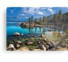 Sand harbor Morning - Lake Tahoe Metal Print
