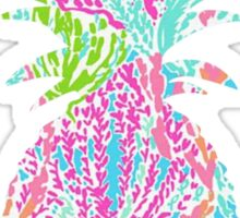 Lily print pineapple Sticker