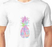 Lily print pineapple Unisex T-Shirt