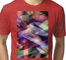 Colourful Flax Abstract  Tri-blend T-Shirt
