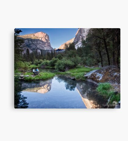 Mirror Lake - Yosemite National Park, California Canvas Print