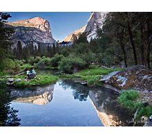 Mirror Lake - Yosemite National Park, California Photographic Print