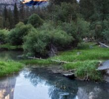 Mirror Lake - Yosemite National Park, California Sticker