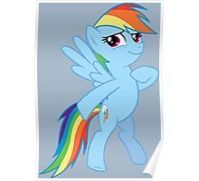 Rainbow Dash Proud Poster