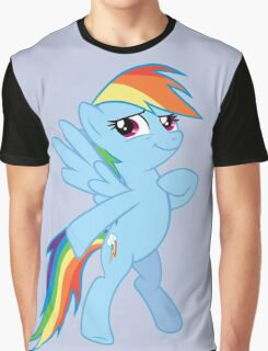Rainbow Dash Proud Graphic T-Shirt